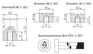 opitz electrode type 001