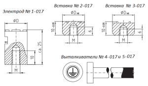 opitz electrode type 017
